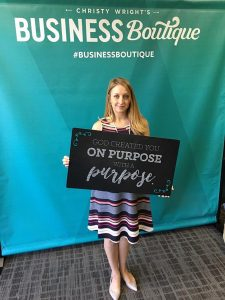 Inspired Woman: Finding My Purpose from Christy Wright's Business Boutique